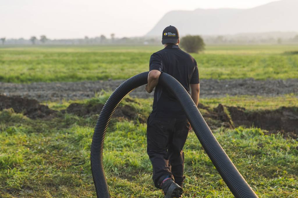 emploi extérieur drainage